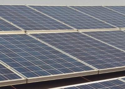 Panel solar designalum