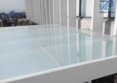 Designalum-domo-cristal-blanco