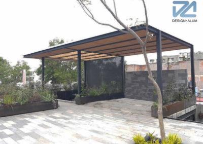 designalum-pergola-madera-acero-roof-garden